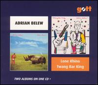 Adrian Belew - Lone Rhino / Twang Bar King CD (album) cover