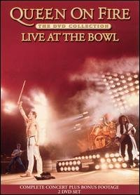 Queen - Queen On Fire - Live At The Bowl DVD (album) cover
