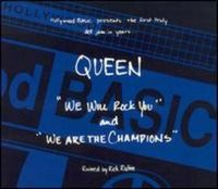 Queen - We Will Rock You / We Are The Champions [ep] CD (album) cover