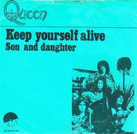 Queen - Keep Yourself Alive / Son And Daughter CD (album) cover