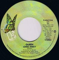 QUEEN - Long Away / You And I CD album cover