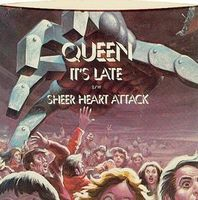 Queen - It's Late / Sheer Heart Attack CD (album) cover