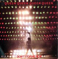 QUEEN - Don't Stop Me Now / In Only Seven Days CD album cover