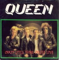 QUEEN - Crazy Little Thing Called Love / We Will Rock You [live] CD album cover