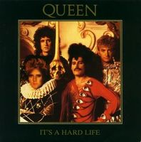 Queen - It's A Hard Life / Is This The World We Created...? CD (album) cover