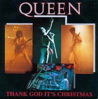 Queen - Thank God It's Christmas CD (album) cover