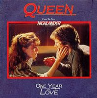 Queen - One Year Of Love / Gimme The Prize CD (album) cover