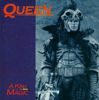 Queen - A Kind Of Magic / A Dozen Red Roses For My Darling CD (album) cover