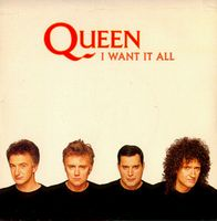QUEEN - I Want It All CD album cover