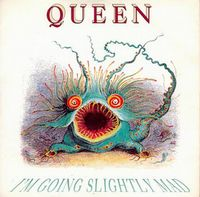 QUEEN - I'm Going Slightly Mad CD album cover