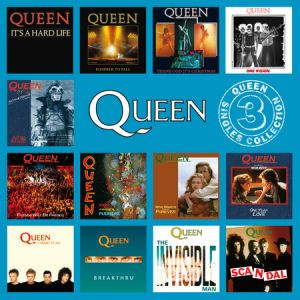 Queen - The Singles Collection Volume 3 CD (album) cover