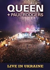 Queen - Queen + Paul Rodgers - Live In Ukraine DVD (album) cover