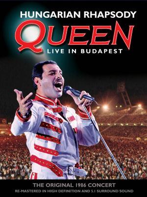 Queen Queen - Hungarian Rhapsody: Live In Budapest (1986) CD album cover