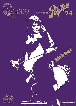 Queen - Live At The Rainbow '74 DVD (album) cover