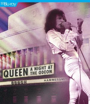Queen - A Night At The Odeon DVD (album) cover
