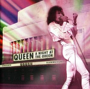 Queen - A Night At The Odeon CD (album) cover