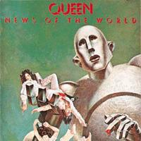 QUEEN - News Of The World CD album cover