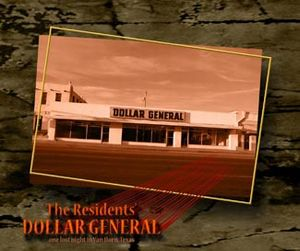 The Residents - Dollar General CD (album) cover