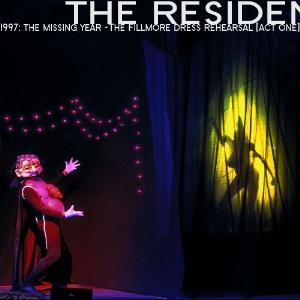 The Residents - 1997: The Missing Year - The Fillmore Dress Rehearsal (act One) CD (album) cover