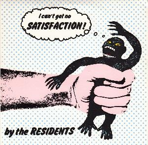 The Residents - Satisfaction CD (album) cover