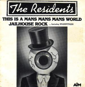 The Residents - This Is A Mans Mans Mans World CD (album) cover