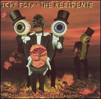 The Residents - Icky Flix : Original Soundtrack Recording CD (album) cover