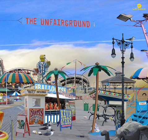 Kevin Ayers - The Unfairground CD (album) cover