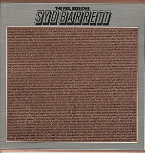 Syd Barrett - The Peel Sessions CD (album) cover