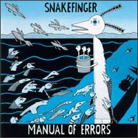 Snakefinger - Manual Of Errors CD (album) cover