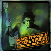 Snakefinger - Snakefinger's Vestal Virgins: Live In Chicago CD (album) cover