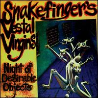 Snakefinger - Night Of Desirable Objects CD (album) cover