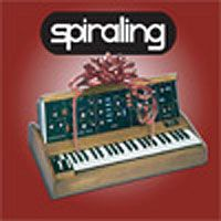 Spiraling - Christmas Single CD (album) cover
