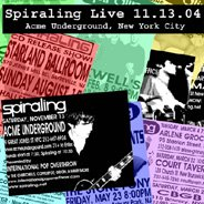 Spiraling - Spiraling Live In New York City CD (album) cover