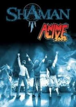 Shaaman - Anime Alive 2008 DVD (album) cover