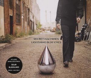 The Secret Machines - Lightning Blue Eyes CD (album) cover