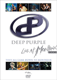 DEEP PURPLE - Live At Montreux 2006 CD (album) cover