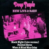 DEEP PURPLE - New Live & Rare CD album cover
