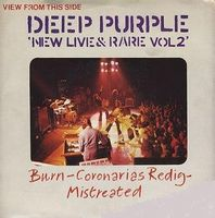 Deep Purple - New Live & Rare Vol. 2 CD (album) cover