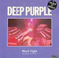 Deep Purple - Black Night CD (album) cover
