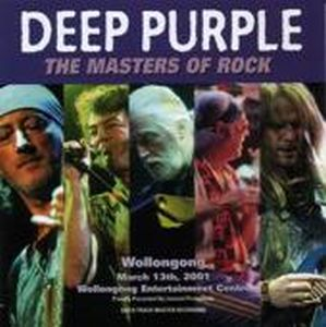 Deep Purple - Australian Tour 2001 - Wollongong CD (album) cover