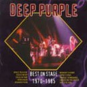 Deep Purple - Best On Stage 1970 -1985 Live Box Set CD (album) cover
