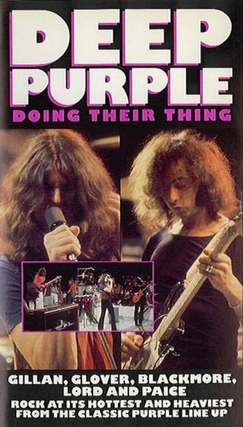 Deep Purple - Doing Their Thing DVD (album) cover