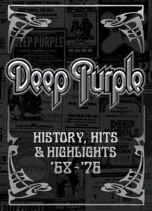 Deep Purple - History, Hits, & Highlights DVD (album) cover
