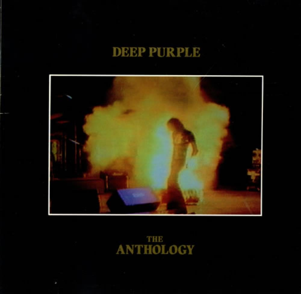 DEEP PURPLE - The Anthology CD album cover