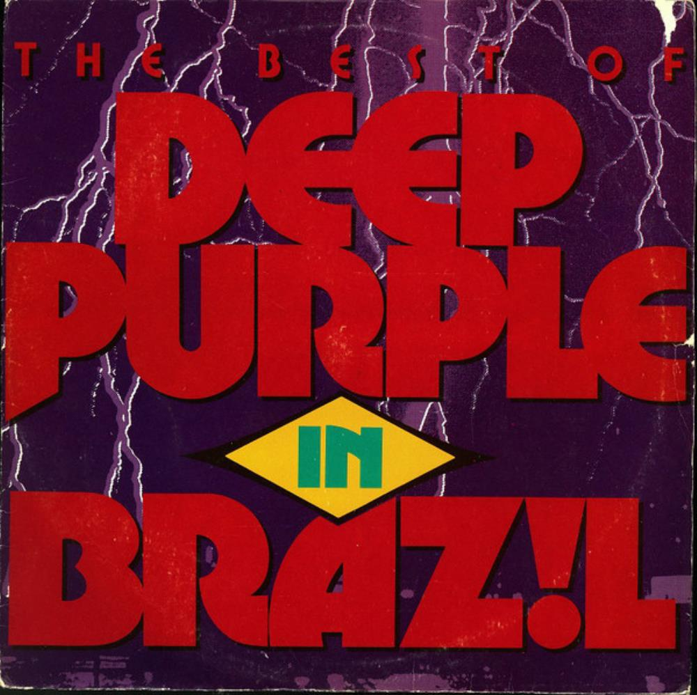 DEEP PURPLE - The Best Of Deep Purple In Brazil CD album cover