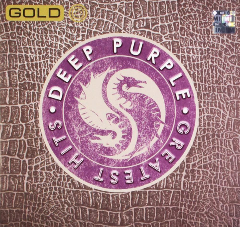 Deep Purple - Gold - Greatest Hits CD (album) cover