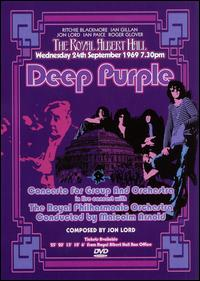 Deep Purple - Concerto For Group And Orchestra DVD (album) cover