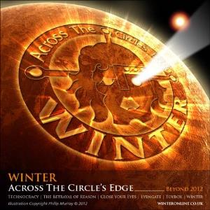 Winter - Across The Circle's Edge (beyond 2012) CD (album) cover