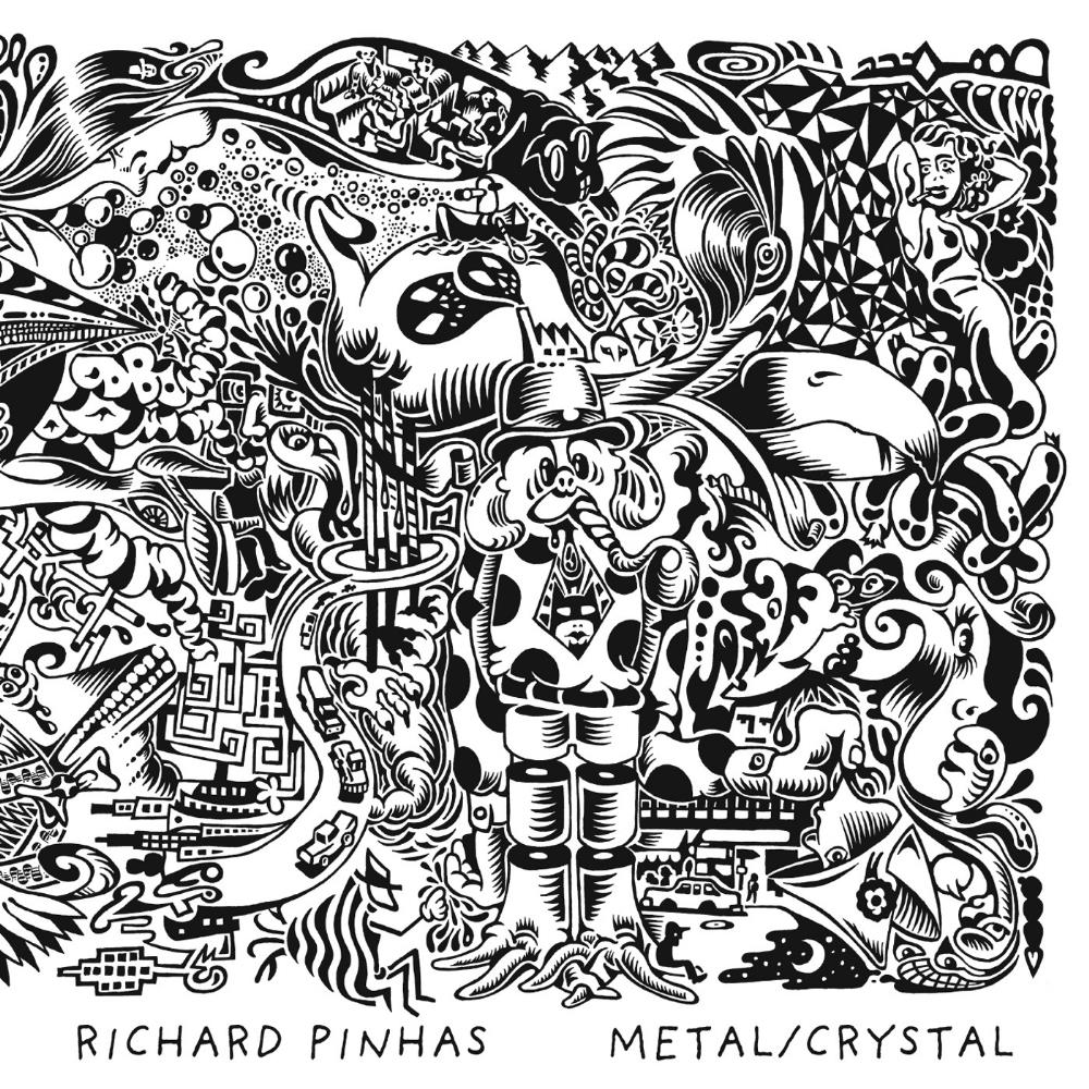 Richard Pinhas - Metal/crystal (with Merzbow And Wolf Eyes) CD (album) cover