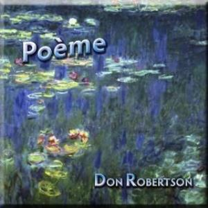 Don Robertson - Poöme CD (album) cover